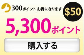 5300ポイント購入